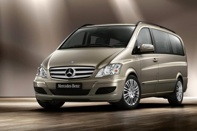 2016 Mercedes-Benz  Vito 4x4 front side