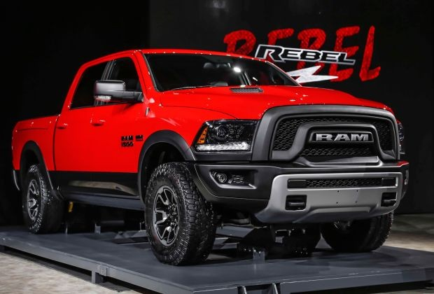 2016 Ram 1500 Rebel front side