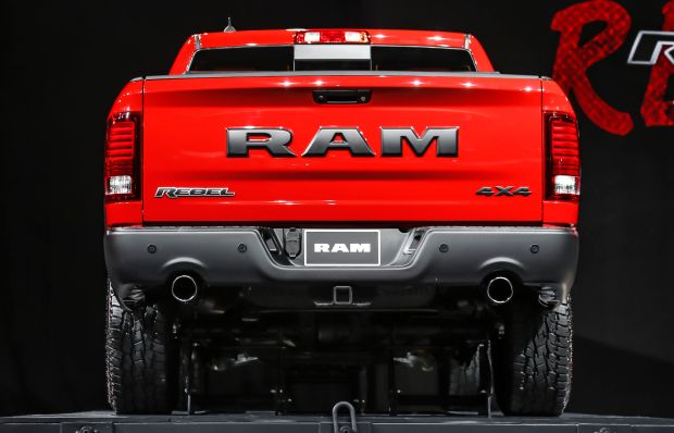 2016 Ram 1500 Rebel rear