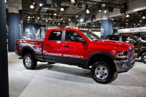 2016 Ram 2500 Power Wagon front side