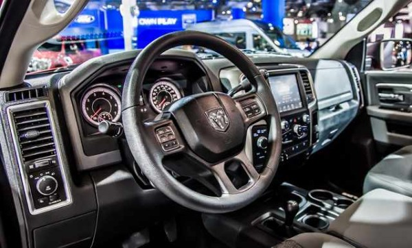 2016 Ram 2500 Power Wagon interior