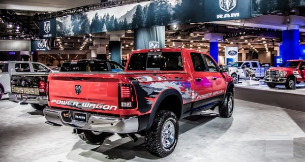 2016 Ram 2500 Power Wagon rear