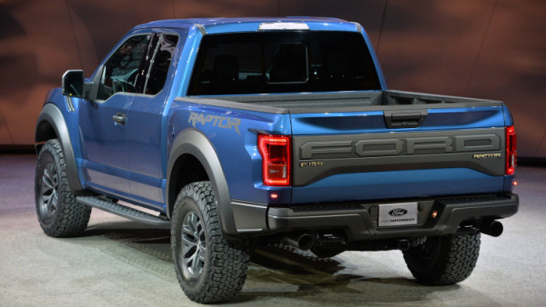 2017 Ford F 150 Raptor rear side