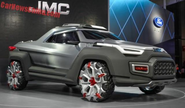 2017 Futuristic Yuhu Concept Pickup Truck - Truck Reviews ...