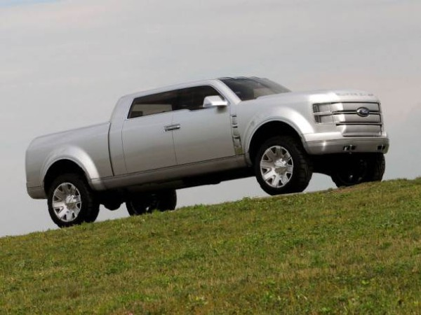 2018 Ford Super Chief Pickup Truck off road