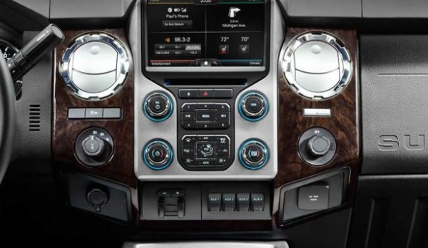 2018 Ford Super Chief Pickup Truck radio