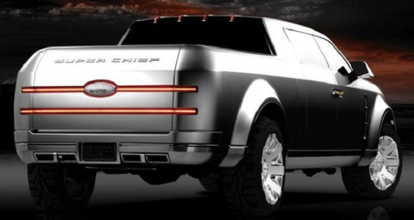 2018 Ford Super Chief Pickup Truck rear