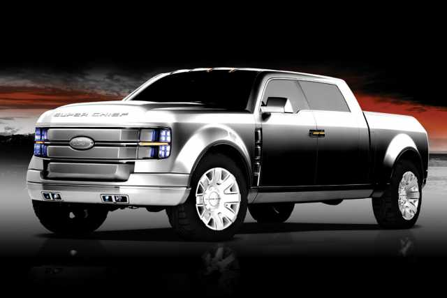 2018 Ford Super Chief Pickup Truck