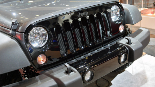 2018 Jeep Wrangler Truck front light