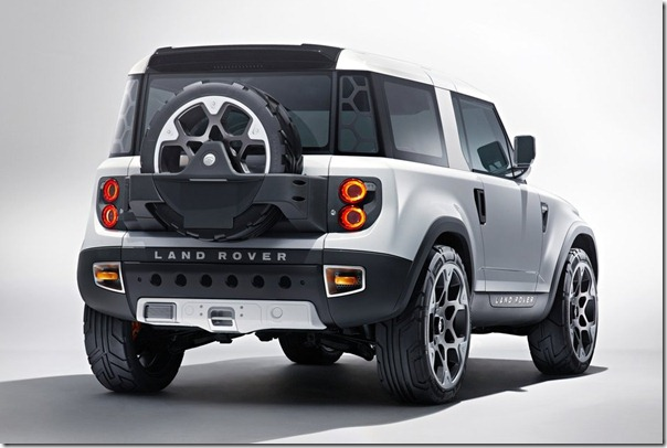 2018 Land Rover Defender rear