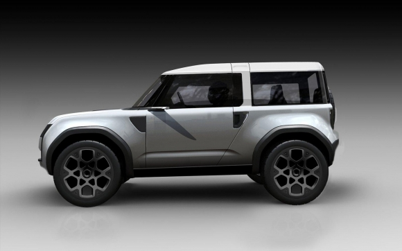 2018 Land Rover Defender side