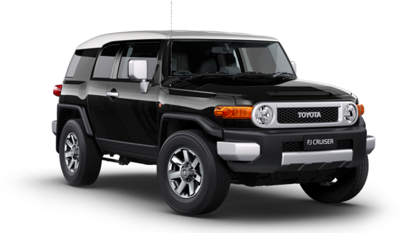 Top Five Off-Roaders Toyota FJ cruiser