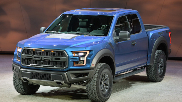 Top Five Off-Roaders ford f150