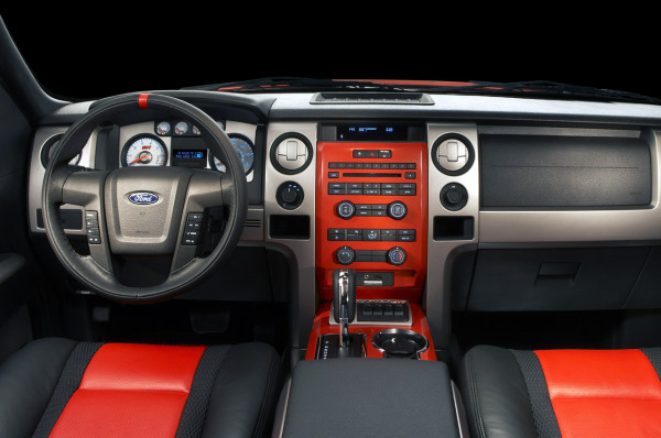 Top Five Off-Roaders ford f150 interior