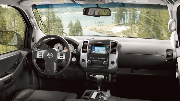 Top Five Off-Roaders nissan xterra interior